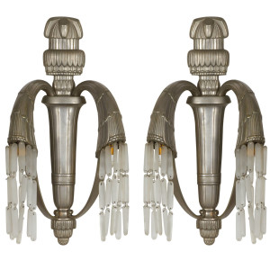 Art Deco Wall Sconces by Simonet