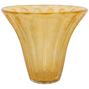French Art Deco Vase by Daum Nancy