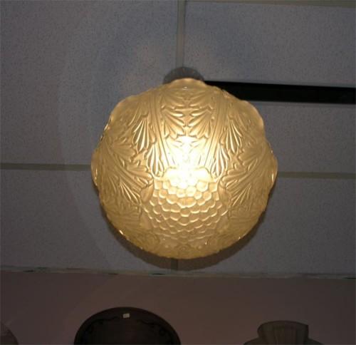 Rene Lalique chandelier Grosse boulle Champs Elysees