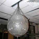 LALIQUE CHANDELIER PASSIFLORE