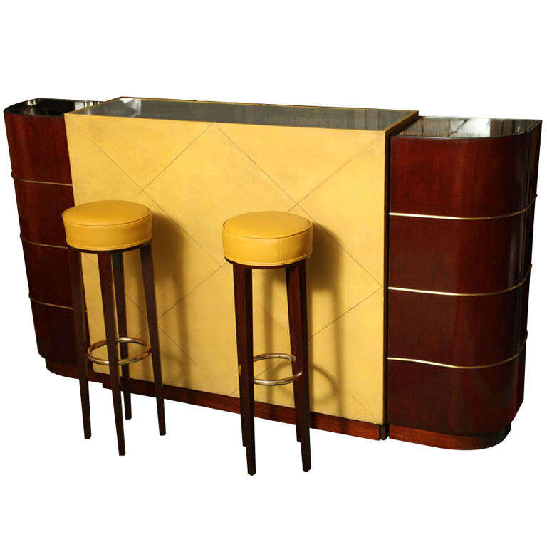 an exceptional french art deco bar by andre arbus paul stamati gallery. Black Bedroom Furniture Sets. Home Design Ideas