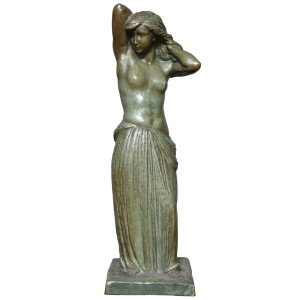 French Art Deco Bronze Figure by Georges Gori