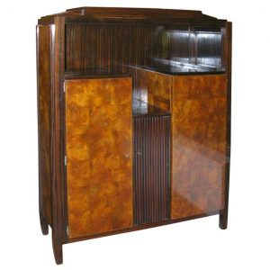 ART DECO CABINET by ANDRE SORNAY (1902-2000)
