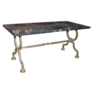 Gilbert Poillerat Coffee Table