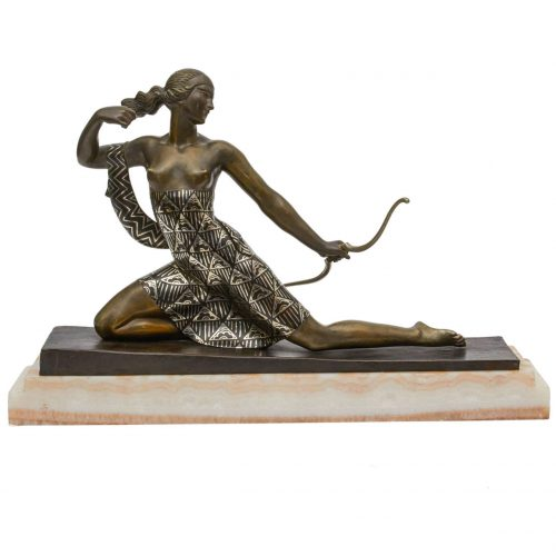 "Diana the Huntress"" Figure by Joseph Descomps"