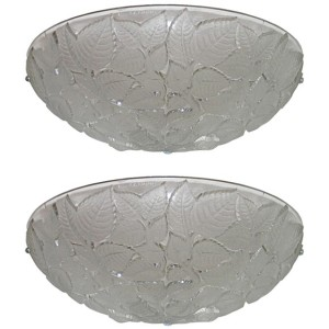 "Pair of ""Charmes"" Art Deco Wall Sconces by Rene Lalique"