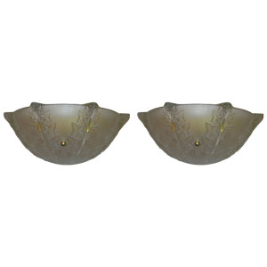 """R. LALIQUE """"Lierre"""" Wall Sconce"""