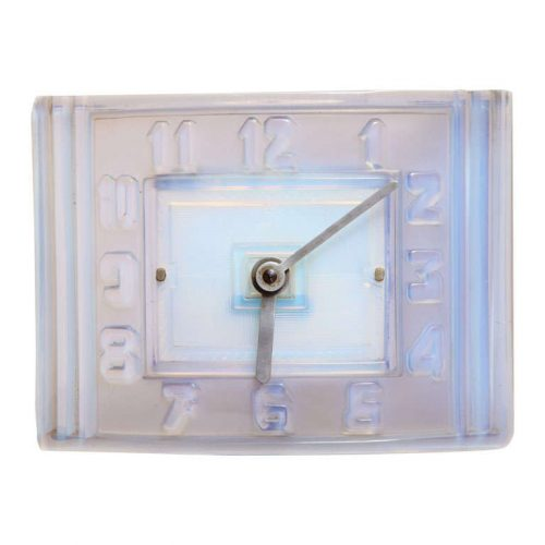 Léon Hatot (ATO) Opalescent Glass Mantle Clock