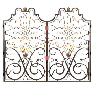 Raymond Subes wrought Iron gates