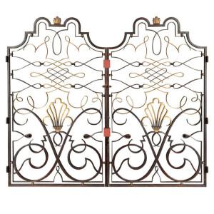 Raymond Subes wrought Iron gates