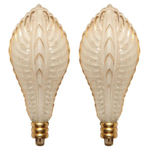 Pair of Wall Sconces by Ezan
