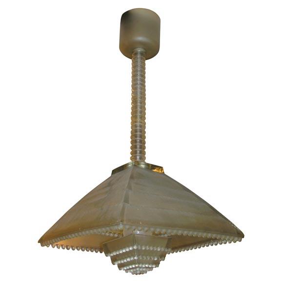 Lalique chandelier ravenne