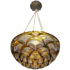 Rene Lalique chandelier Rinceaux