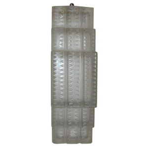 """R. LALIQUE """"Flandre"""" Wall Sconce"""