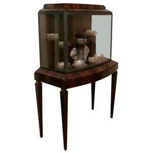 Art Deco Illuminated Vitrine (Pair available)