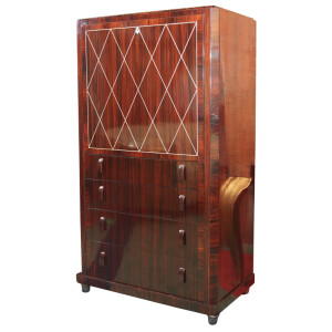 Art Deco Secretaire in the manner of Ruhlmann