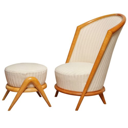 French Fireside Chair