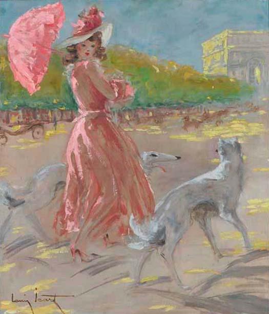 Louis Icart oil painting