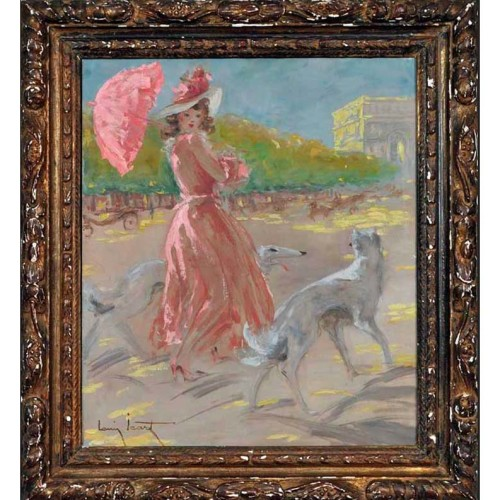 Louis Icart oil painting