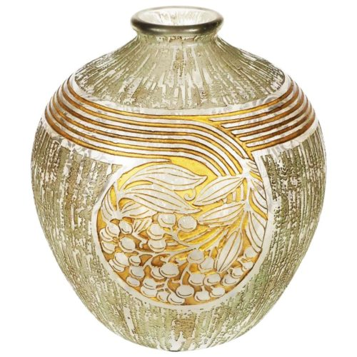 Art Deco Daum Nancy Vase