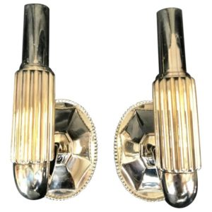 Art Deco Wall Sconces by Urban Archaeoalogy