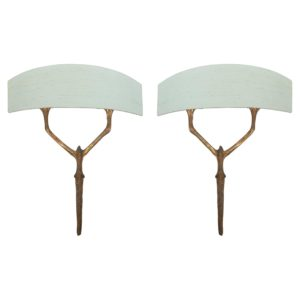 French Art Decorative Wall Sconces by Felix Agostini
