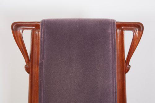 French Art Nouveau Pair of Louis Majorelle Chairs