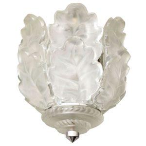 """Lalique Ceiling Fixture """"Chene"""""""