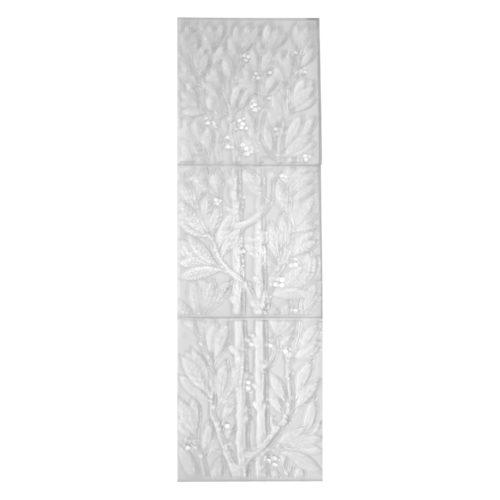 """Lalique """"Lauriers"""" Decorative Panels"""