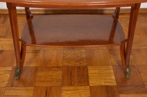 Majorelle Art Nouveau Ormolu Two-Tier Table