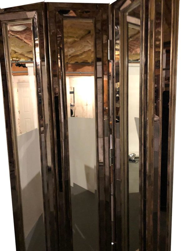 Mirrored Screen or Room Divider