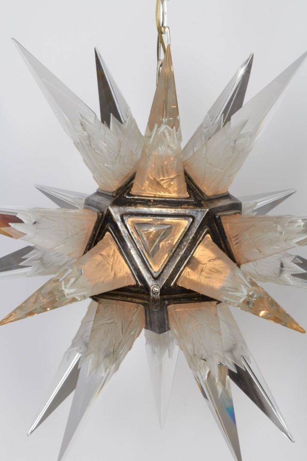 Moravian Star Chandelier